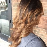 Caramel Balayage with Long Layers