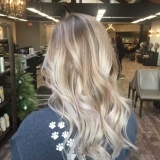 Vanilla Blonde Balayage with Long Layers